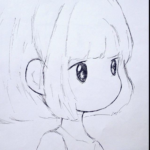 简笔画 手绘 素描 线稿 638_638