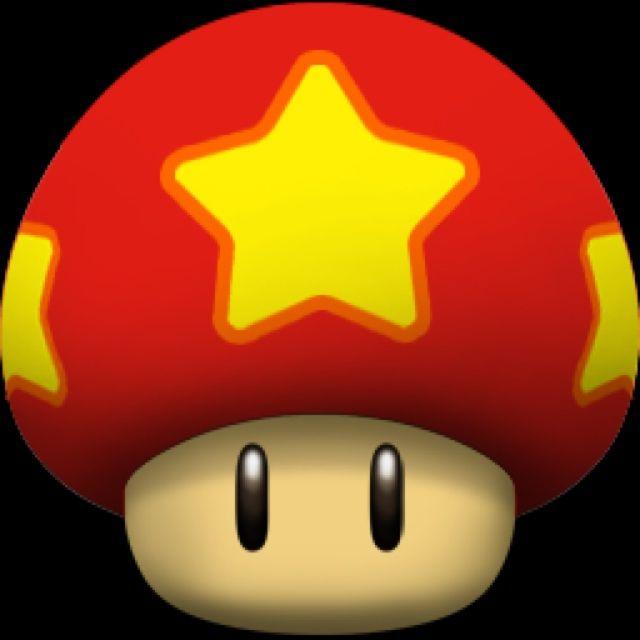 超级玛丽 蘑菇 像素