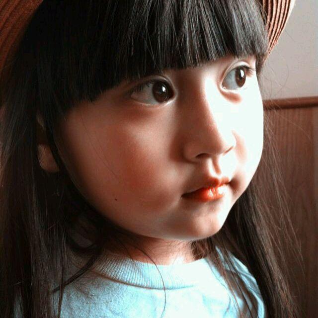特会搞怪又很萝莉的小女孩头像(5; 5岁女孩子可爱照片; 萌女孩子头像