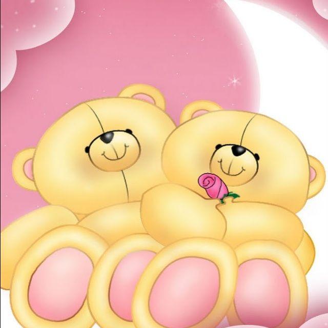 可爱的小熊_动漫卡通_手机主题免费下载; 甜蜜双熊; 可爱小熊