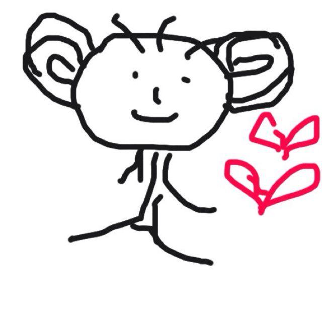 动物数字 2_幼儿简笔画动物-61幼儿网