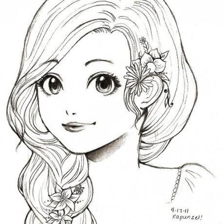 茉莉手绘简笔画