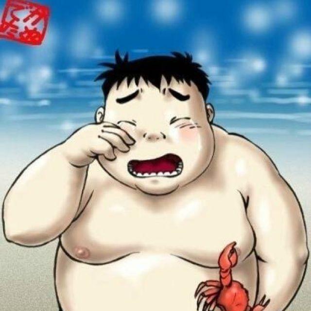 小胖子图片