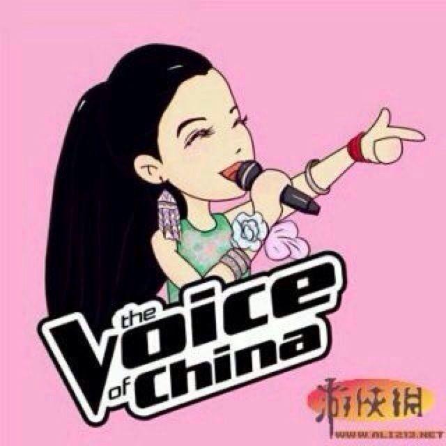 中国好声音卡通人物头; 中国好声音卡通图片; re:漫画版中国好声音