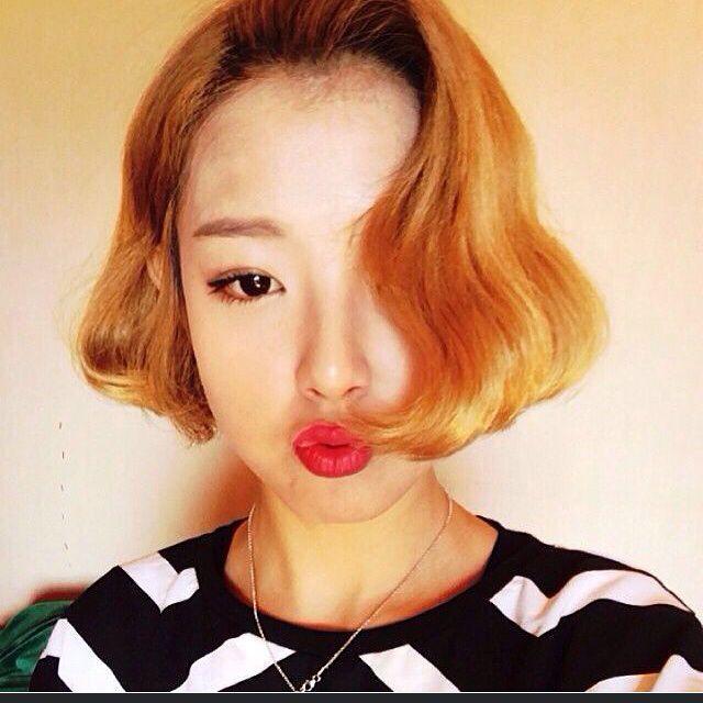 韩国流行短发发型图片图片