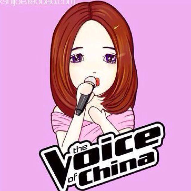中国好声音卡通头像(2)