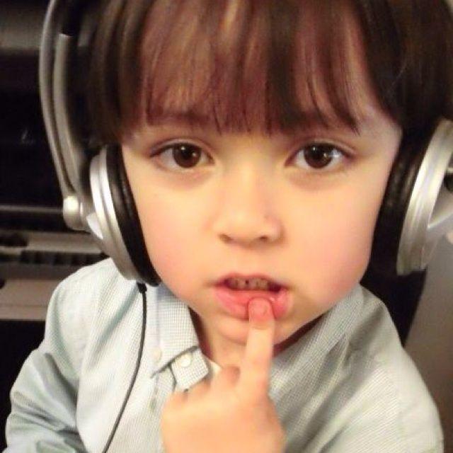 加关注; 点评:欧美可爱的小孩头像; 陈太太太大