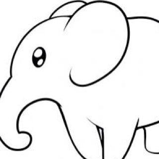 各种小动物的简笔画-鸭子图片