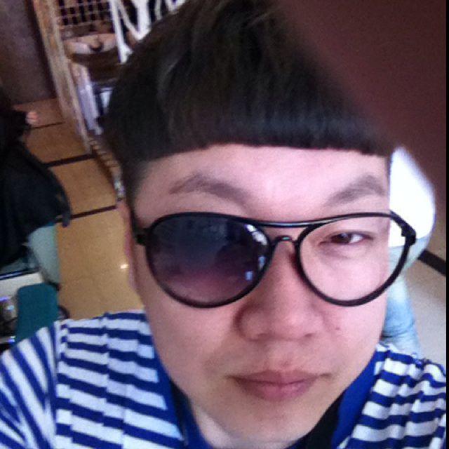 头发雕刻眼镜图片